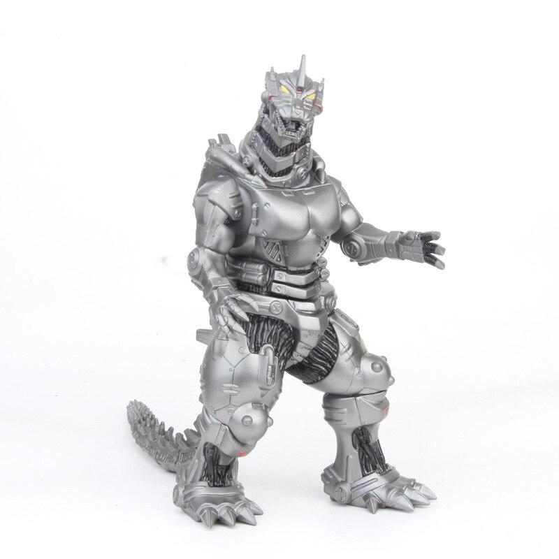 34cm japão filme kaiju mecha versão gogogogojirae godzillaey pvc action figure collectible modelo brinquedo crianças presente