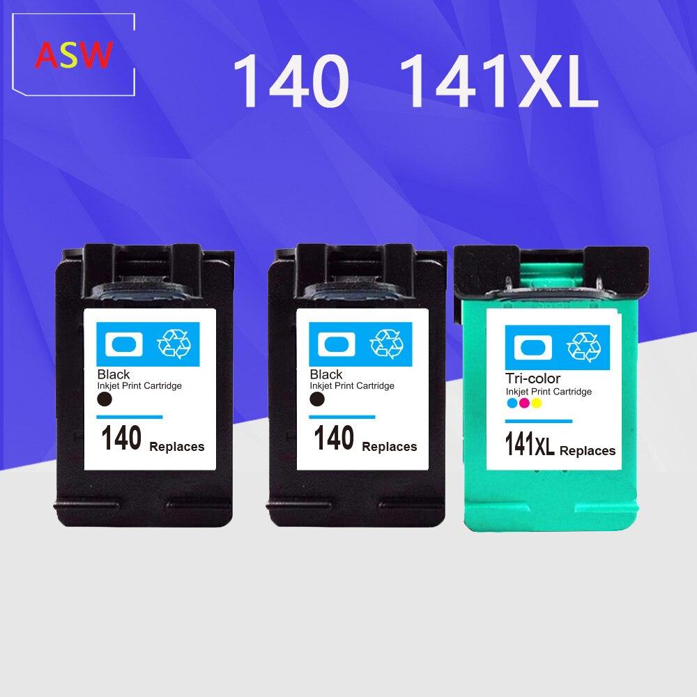 Refilled ink cartridge replacement for HP 140 141 for hp C4583 C4283 C4483 C5283 D5363 Deskjet D4263 D4363 C4480 printer