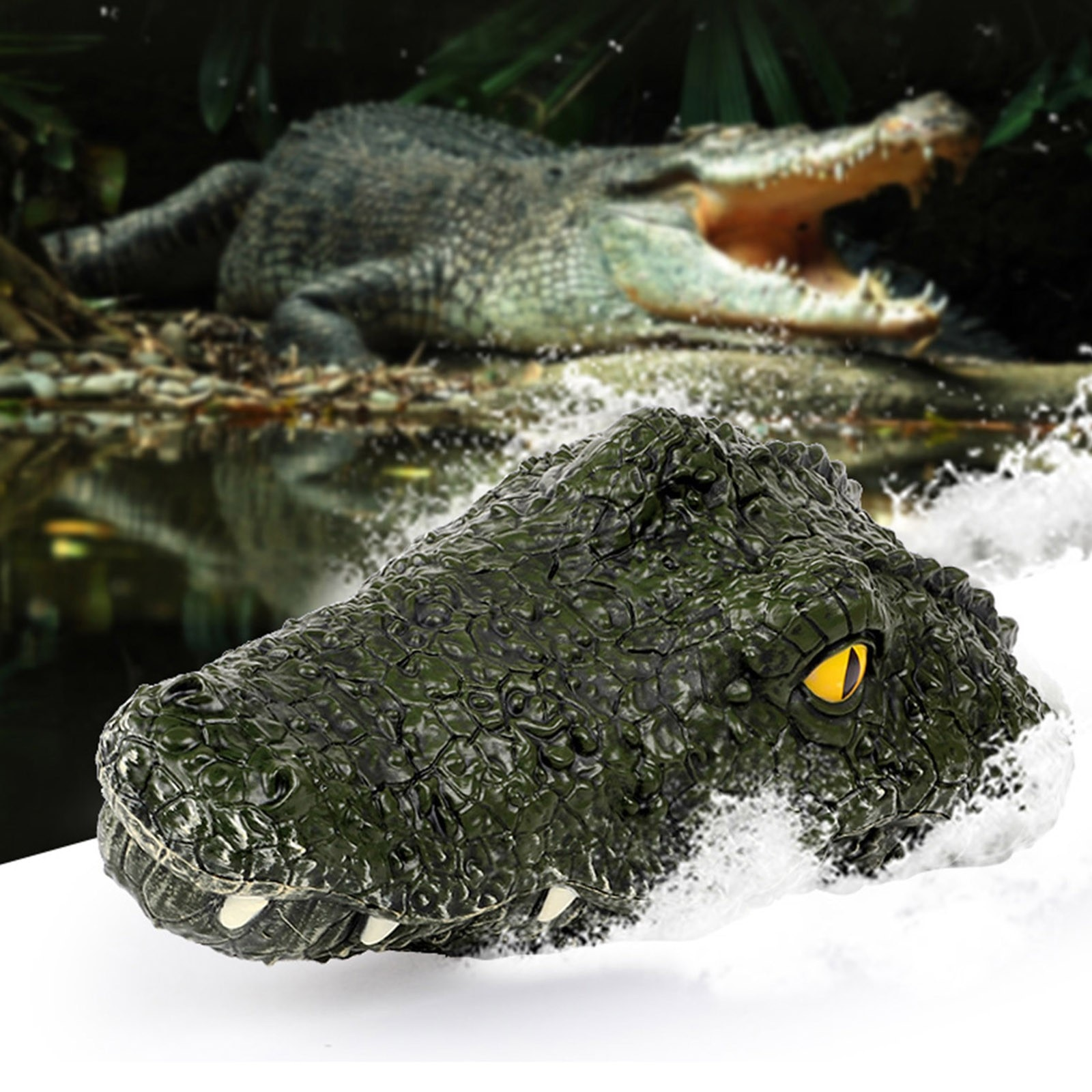 2.4G remote control 4 channel remote control electric racing crocodile head remote control spoof toy outdoor toy лодка 40*