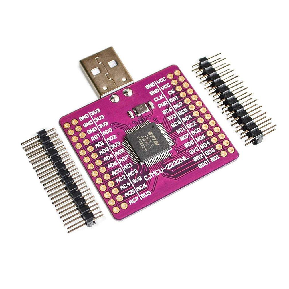 CJMCU-2232 FT2232 HL USB إلى UART فيفو SPI I2C JTAG RS232 وحدة FT2232HL N9P6