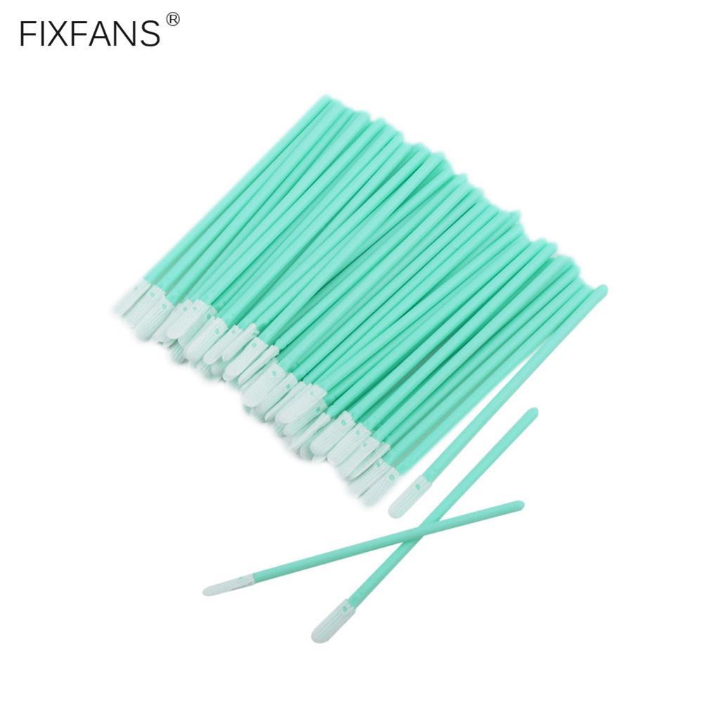 FIXFANS Mikrofaser Tuch Reinigung Stick Telefon Lade-Port & Kopfhörer Jack Reiniger Werkzeuge für iPhone Samsung Android Smartphone