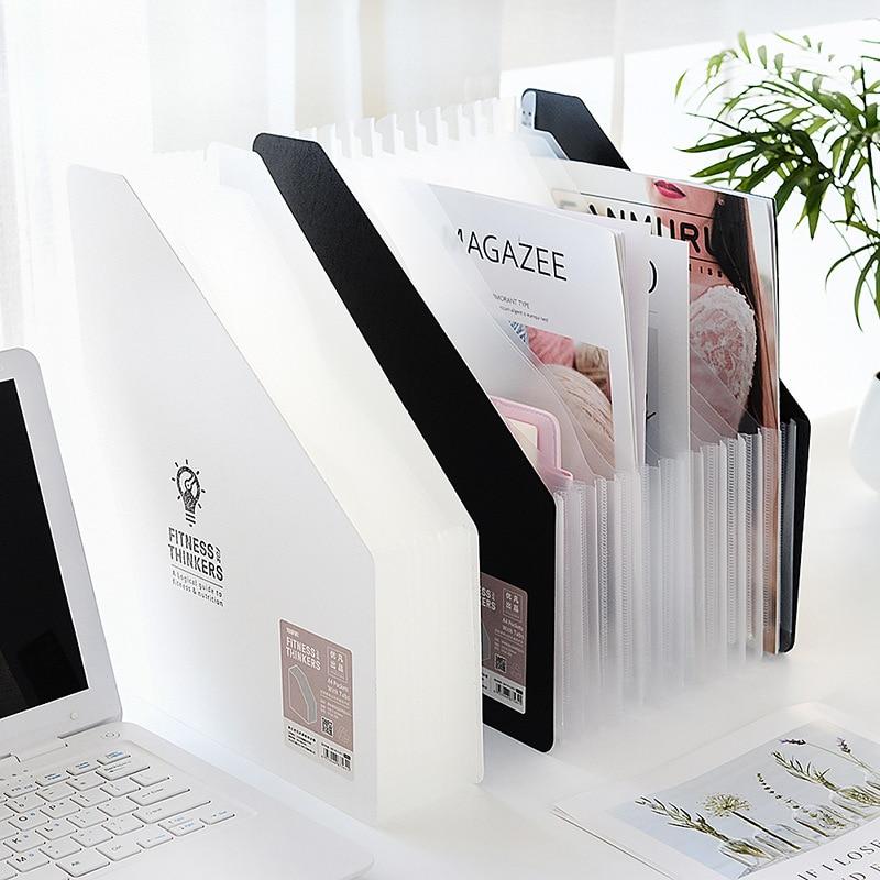 Папка для документов формата А4 из ПП, вертикальная папка для документов с 12 отделениями для документов