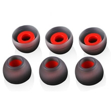 3 Pairs(6pcs) 1 pair L M S In Ear Tips Earbuds Earphone Silicone Eartips/Ear Sleeve/Ear Tip/Earbuds For KZ Earphone LZ A4 DZ9