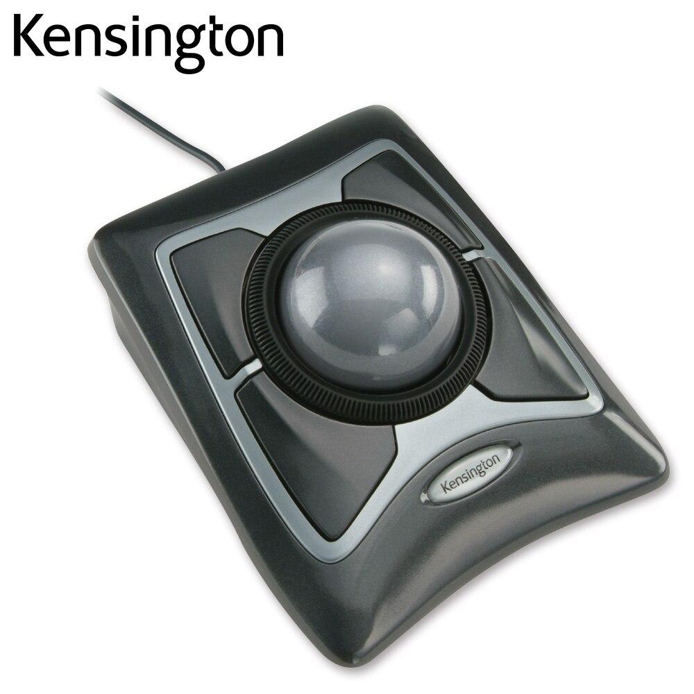 كينسينجتون الأصلي خبير تراكبال ماوس عالمي USB الفأرة البصرية مع حلقة التمرير الكرة الكبيرة ل أوتوكاد الماوس K64325