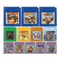 Cartucho de videojuego de 16 bits, tarjeta de consola, serie CRI/Donke Kong, versión en inglés para Nintendo GBC