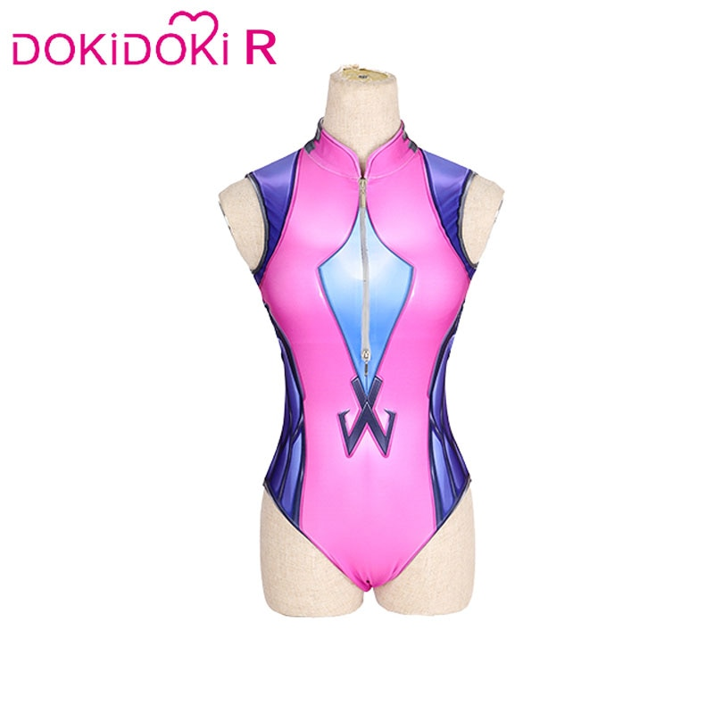 DokiDoki Game OW  Widowmaker Cosplay Swimsuit Women Sexy Costume Widowmaker Cosplay Swimsuit Amélie Guillard