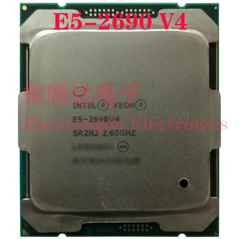 Intel Xeon E5-2690 v4 Processor 2.6GHz 30MB 14 Cores 28 Threads LGA 2011-v3 E5-2690V4 CPU Processor