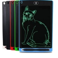 8 5 lcd tablet writing pad e writer kid graphic diy drawing work board chirdren painting calculating pad gift for boys girls