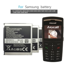 AB423643CU (AB423643CC AB423643CE) para samsung X828 D830 D838 E840 F589 F639 U100 U308 U600 X820 bateria