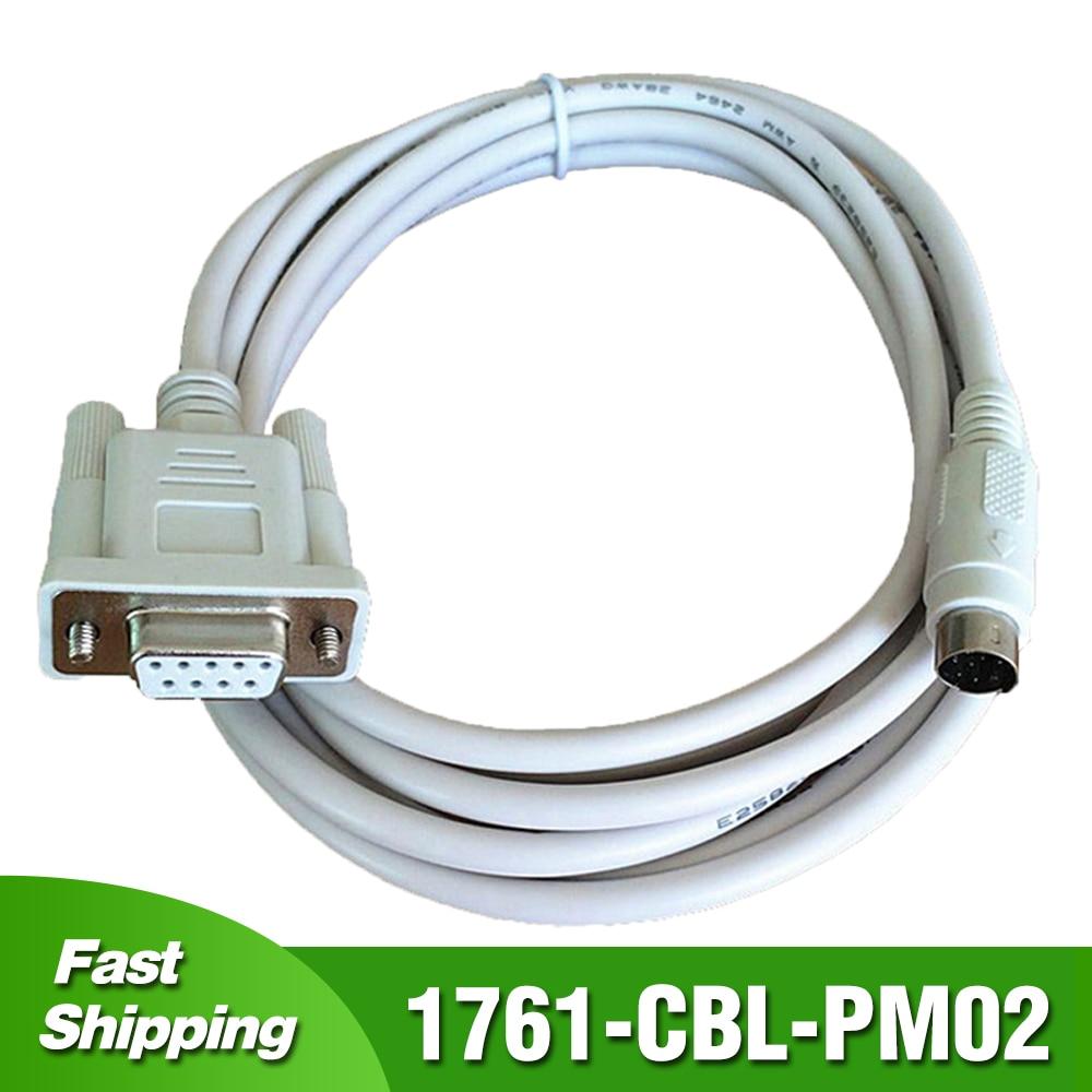 1761-CBL-PM02 ل AB ألين برادلي كابل برجمة MicroLogix 1000 1200 1400 1500 سلسلة PLC 1761CBLPM0 2 كابل نقل بيانات
