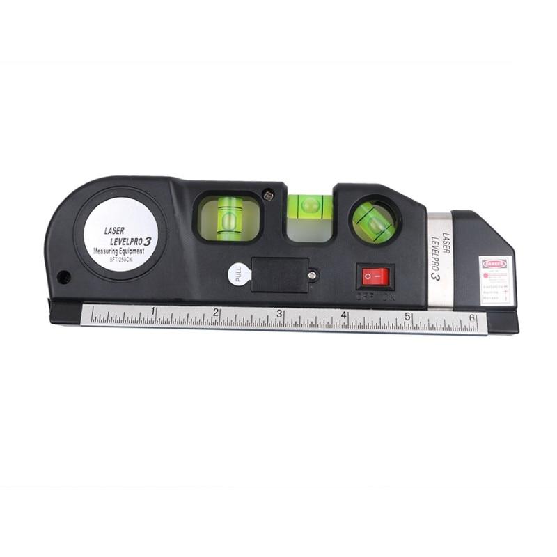 Nastro laser a linee incrociate a livello laser a infrarossi 4 in 1 - Strumenti di costruzione - Fotografia 6