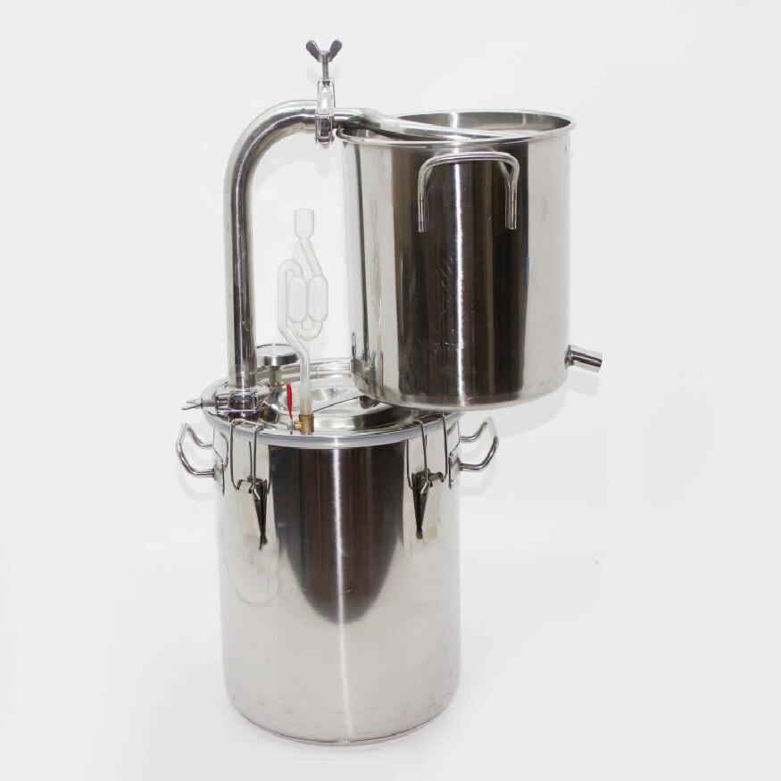 20L 30L 70L Rvs Distiller Geesten Alcohol Distillatie Huishoudelijke Spiraal Spoel Brouwen Wijnbereiding Apparatuur