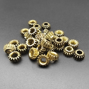 300pcs Ratio 1:15 Guitar Parts Replacement Tuners Tuning Pegs Key Machine Heads Mount Hex Hole Gear