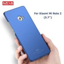 Mi Note 2 housse de protection Msvii Silm étuis givrés pour Xiaomi Mi Note 2 étui Xiomi housse de protection rigide pour Xiaomi Note 2 Mi Note2 étui 5.7