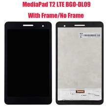 -Para Huawei MediaPad T2 7,0 LTE, BGO-DL09 BGO-L03, pantalla LCD digitalizadora, montaje de Sensor de Panel táctil con marco + herramientas