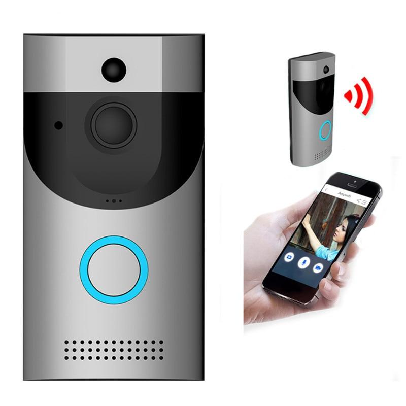 Фото - B30 умный WiFi видео дверной звонок Водонепроницаемый и противоугонное устройство мониторинга низкая мощность видеодомофон дверной звонок PIR ... противоугонное устройство