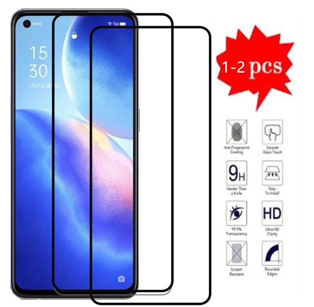 Full Cover Tempered Glass On For OPPO Reno5 K 5G Screen Protector Glass On For OPPO Reno5 K 5G Phone