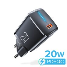 PD 20W USB Type C Charger Quick Charge 4.0 3.0 Mobile Phone Charger For iPhone Samsung Xiaomi Fast W