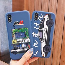 Couple embosser fuji Tofu boutique voiture téléphone housse étui pour iphone X Xs Max Xr 10 8 7 6 6s Plus luxe souple silicone Coque Fundas