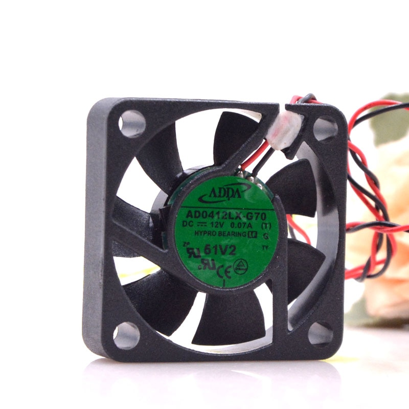 Adda/Xiex12v0.07a Ad0412lx-g70 4010 Monitoring Stroombron Ultra-Stille Ventilator 4Cm