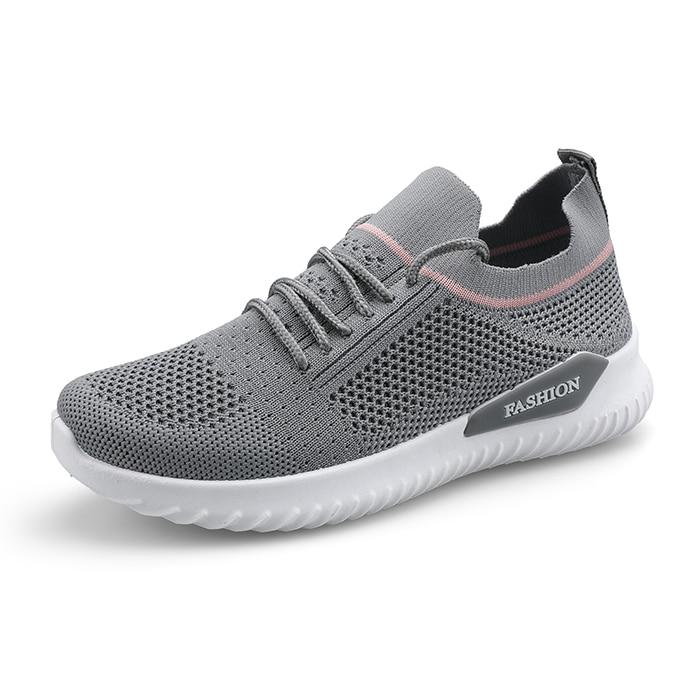 Tenis Femenino para mujer 2020, ligeros nuevos zapatos cómodos para caminar al aire libre, calzado deportivo atlético para Fitness, zapatillas bonitas para mujer