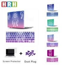 HRH 2in1 capteur de rêves clavier couverture corps coque étui rigide pour Mac Pro Retina13 12 15Air 13 barre tactile A2159 A2141 A2289 A2251