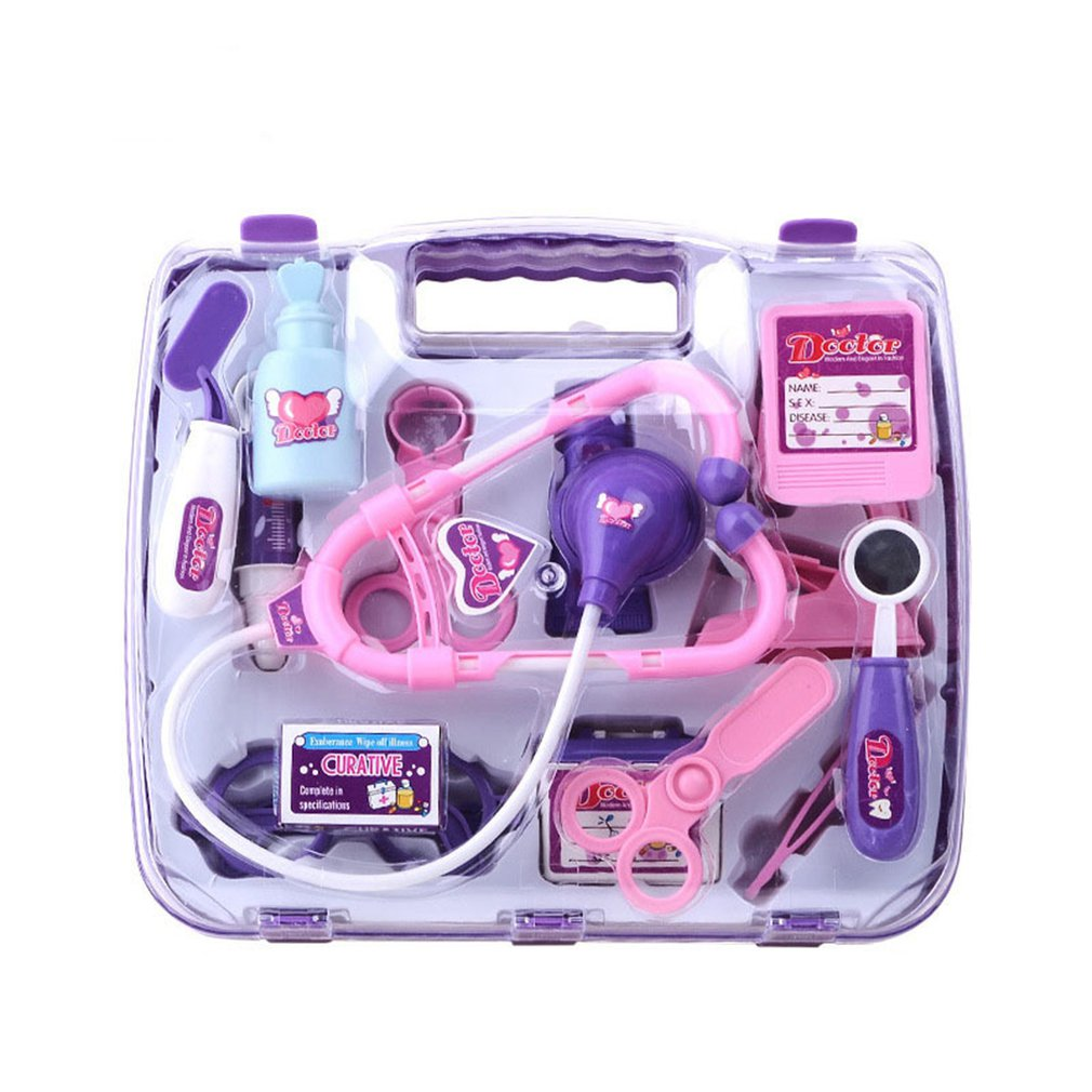 Kids Educational Pretend Case Toy Pretend Play Kit Nurse Role Playing Exquisite Props Toys For Children