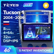 TEYES CC2 Auto Radio Multimedia keine 2 din android Video Player Navigation GPS Für Hyundai Tucson 1 2004 2005 2006 2007 2008 2009