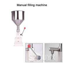 Machine à emballer de miel de boisson de crème dhuile de cuisson commerciale petite machine de remplissage manuelle machine de remplissage Quantitative de pâte liquide