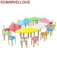 chair and silla y mesa infantiles cocuk masasi stolik dla dzieci kindergarten for kids study kinder bureau enfant children table