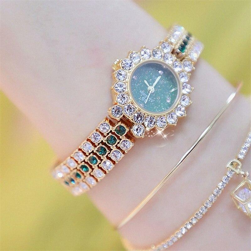 Women Watch Famous Luxury Brands 2020 Crystal Diamond Quartz Ladies Watches For Woman Wristwatch Relogio Feminino Diamond Watch enlarge