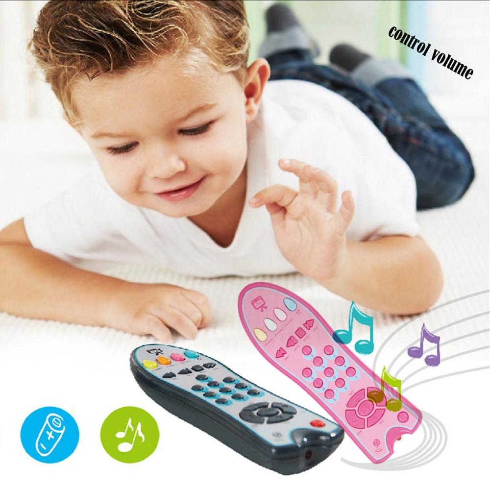 Baby Remote Control Toy Learning Lights Remote For Baby Click & Count Remote Toys For Boy Girl Baby Infant Toddler Toy In Stock
