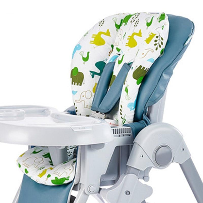 Baby Kids Highchair Cushion Pad Mat Booster Seats Cushion Pad Mat Feeding Chair Cushi on Pad Stroller Cushion Mat Cotton fabric