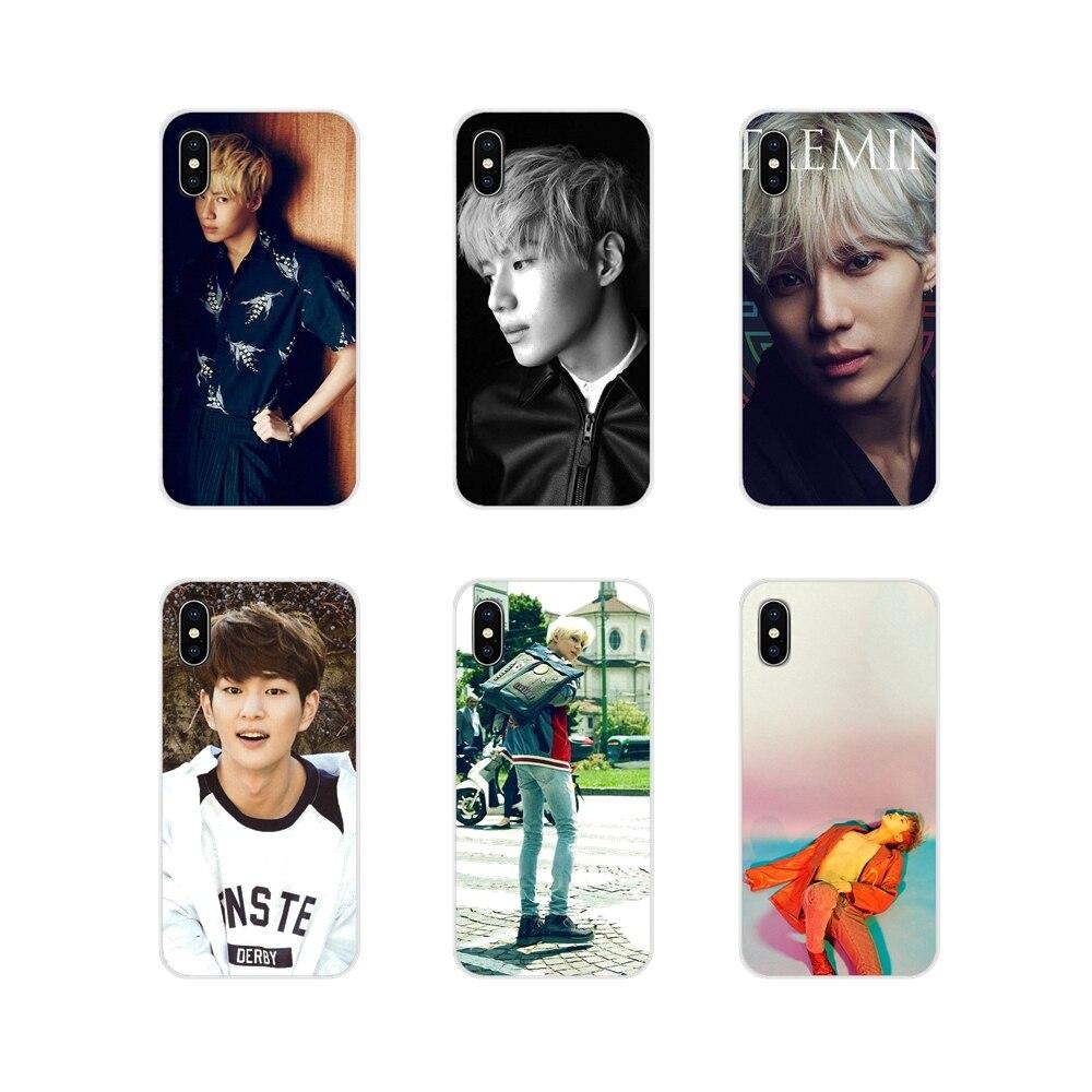 Для Samsung Galaxy S2 S3 S4 S5 Mini S6 S7 Edge S8 S9 S10E Lite Plus Аксессуары чехлы для телефонов kpop Shinee Taemin