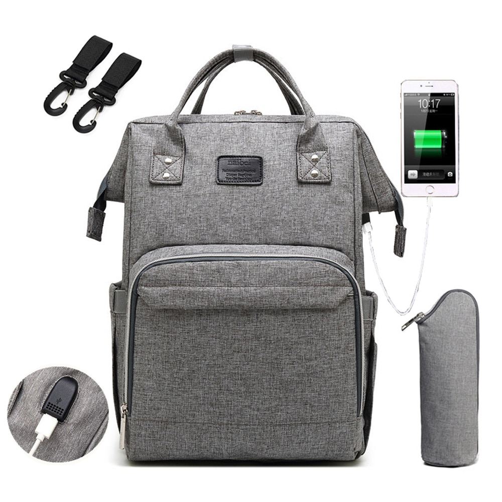 Mommy Maternity Bag 2021 Fashion Nappy Travel Backpack for Mom Multifunction Waterproof Baby Nursing Diaper Bags for Stroller
