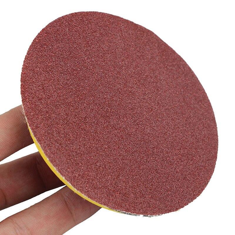 10 Uds 40-7000 Grit 50mm 2 pulgadas disco para lijadora hojas Loop liding Disk papel de lija redondo herramientas abrasivas