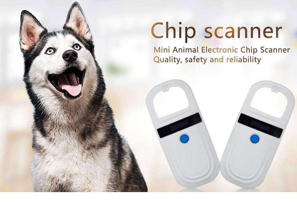 Readell ISO FDX-B Pet RFID Chip Reader OLED Display Portable Animal Microchip Scanner for Dog Cat enlarge