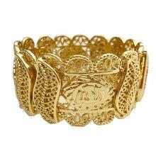 Bracelets en or pour femmes, bijoux éthiopiens et arabes, pour femme