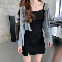 Early Spring with Skirt Cardigan Jacket Women 2021summer New Shawl Outer Match Sun Protection Sweate