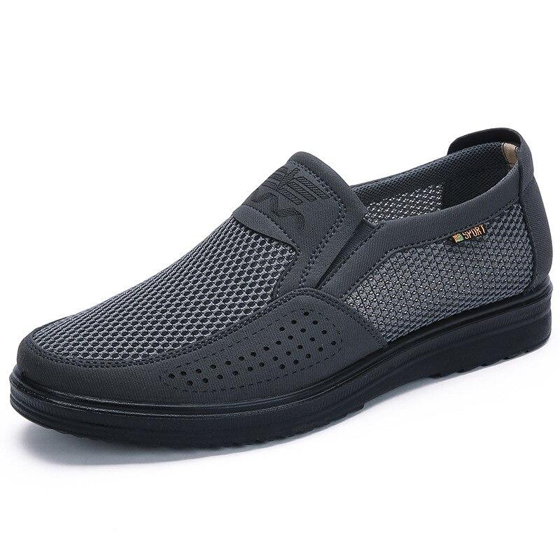 ¡Novedad de 2020! Zapatos informales clásicos para hombre, zapatos ligeros, cómodos, transpirables, tenis, boca baja, tallas grandes 38-48