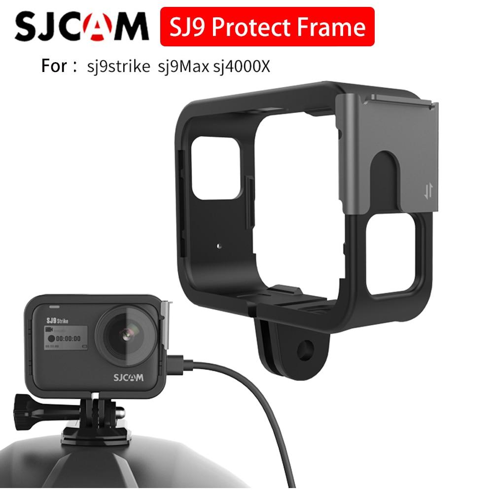 SJCAM SJ9 marco con Cable de 1,5 m soporte de marco de plástico para SJCAM SJ9 serie SJ9 Strike SJ9 max cámaras de acción