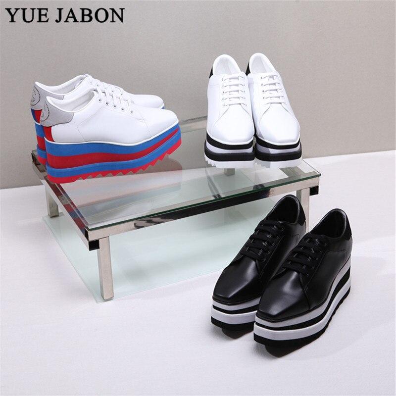 Nueva plataforma de encaje Zapatillas Zapatos transpirables casuales zapatos de mujer de moda de altura creciente zapatos de mujer talla grande 35-41