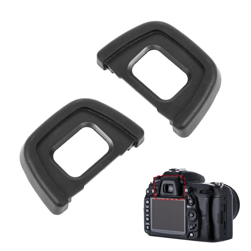 2 uds DK-23 cámara ocular visor Protector de Eyecup de Ni-kon D600 D610 D700 D7000 D7100 D7200 D90 D80 D70S D70