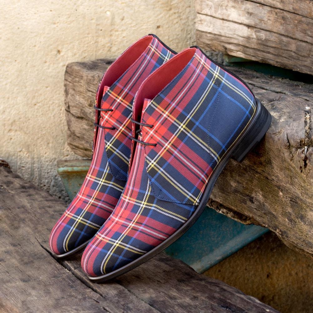 2021 الشتاء الرجال الأحذية الدانتيل يصل بولي Leather جلد الرجال تشيلسي الأحذية أحذية قتالية القماش القطني حذاء من الجلد Zapatos دي segurالشراء Hombre KR017