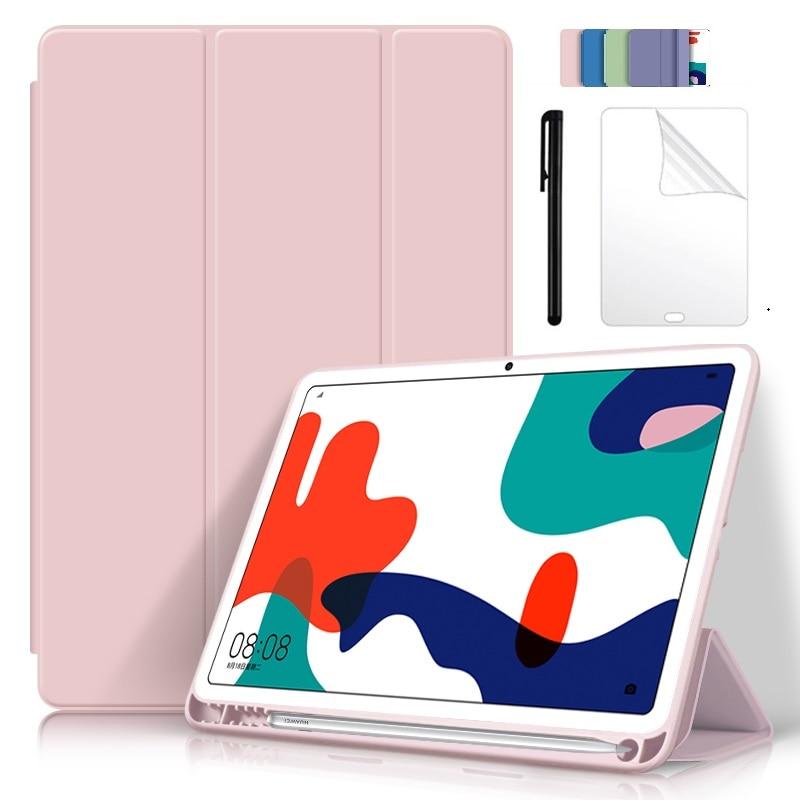 Funda para Huawei MatePad 10,4 2020 Auto Sleep/Wake con estuche Portalápices para MatePad 10,4 BAH3-W09 Shell Cover Capa con Fim