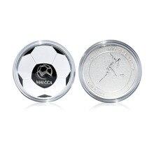 MAICCA arbitre de Football pièce de monnaie en métal pièces de Football
