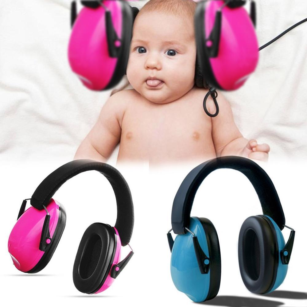 Orejeras para niños protectores auditivos diadema ajustable protectores de oreja para bebé orejeras antiruido