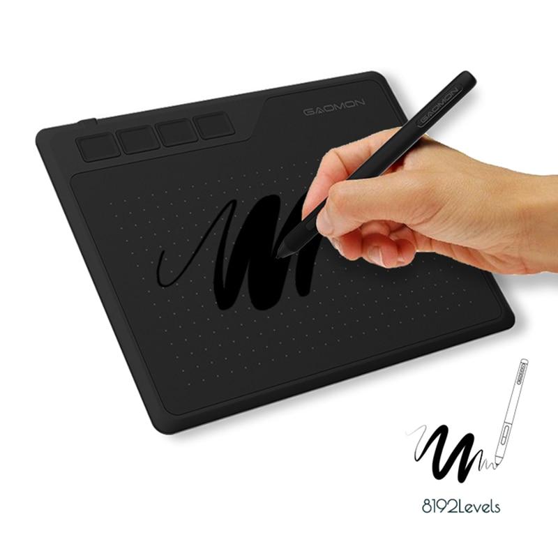 S620 6.5x4 بوصة أنيمي جهاز كمبيوتر لوحي للرسومات الفنية لوح كتابة للرسم ولعبة OSU مع 8192 مستويات القلم جهاز لوحي للأطفال