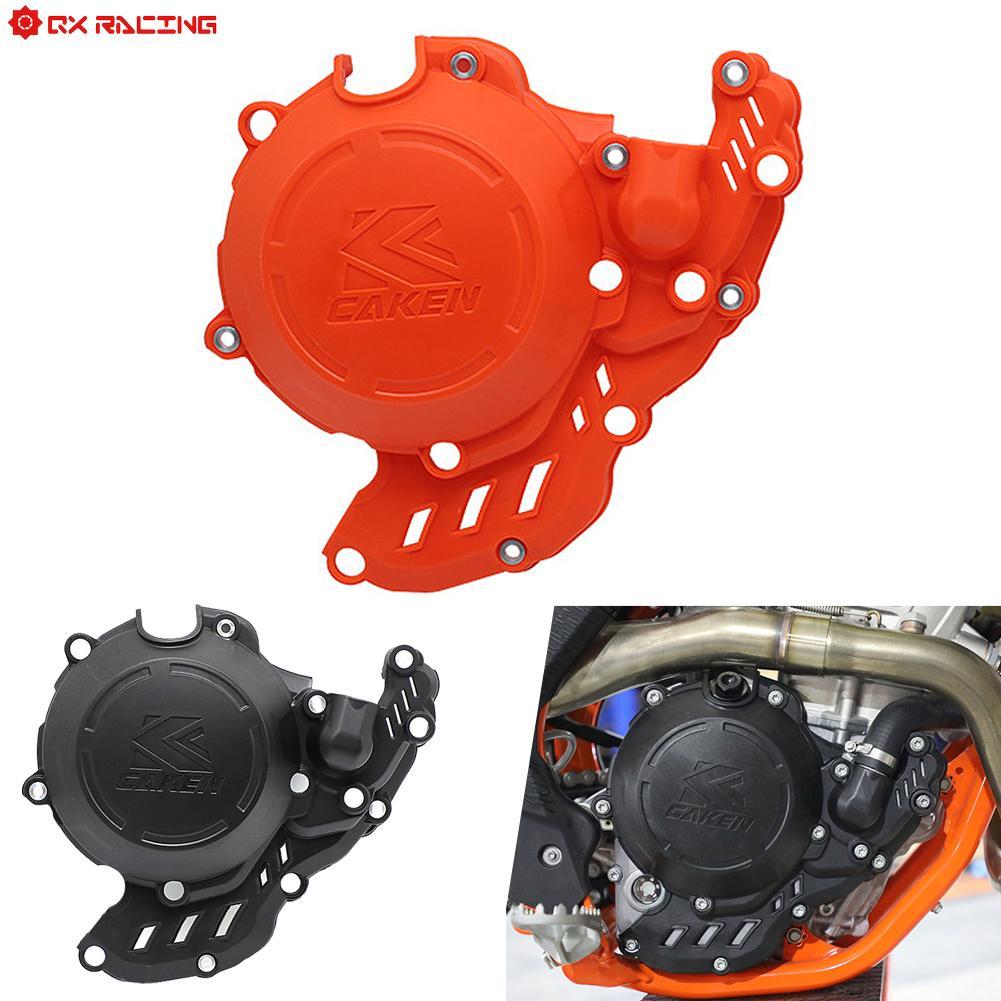 موتوكروس الإشعال غطاء القابض الحرس حامي ل Husqvarna FE 250 FE 350 ل KTM 250 exf XCFW 350 للغاز EC 250F 350F 2021
