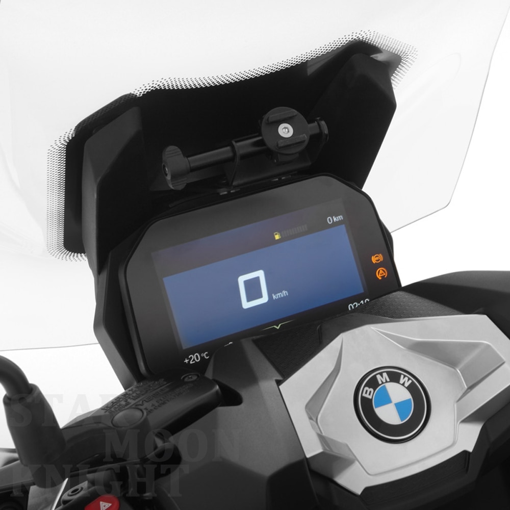 For BMW C400X Motorcycle GPS Smart Phone C400X Navigation Mount Mounting Bracket Adapter Holder Universal mobile phone stand  - buy with discount